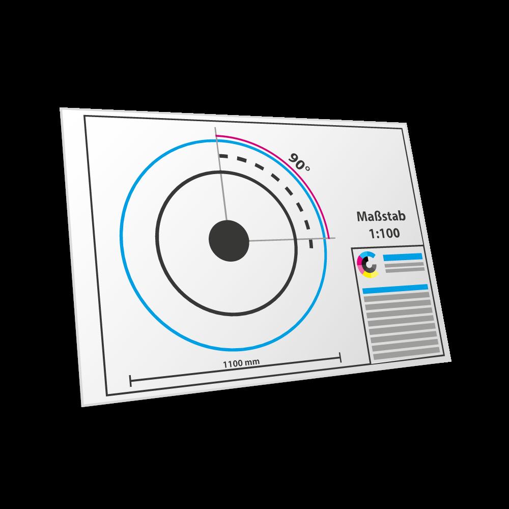 CAD-Plot Farbe